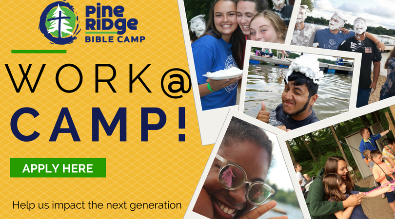 Apply for Summer Staff at Pine Ridge